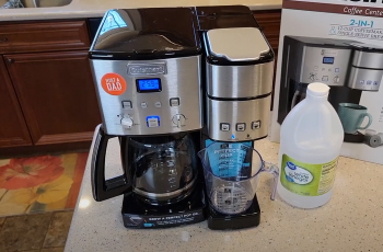 How To Clean Cuisinart Coffee Maker With Clean Button