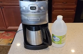 How To Clean Cuisinart a Coffee Maker With Grinder