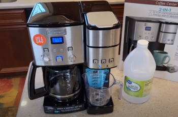 How to clean Cuisinart coffee maker k cup