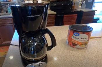 Hamilton beach coffee maker how much coffee