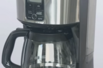 How To Clean a Black And Decker Coffee Maker