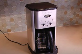 How to Clean a Cuisinart Coffee Maker with a Self-Clean Button