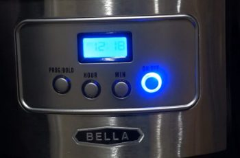 How to Set Timer on Bella Coffee Maker