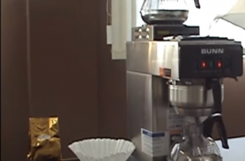 How to store a Bunn coffee maker