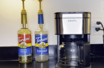 How to use the clean button on Krups coffee maker