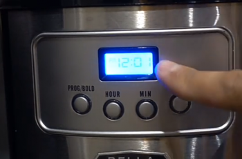 How To Set The Clock On A Bella Coffee Maker